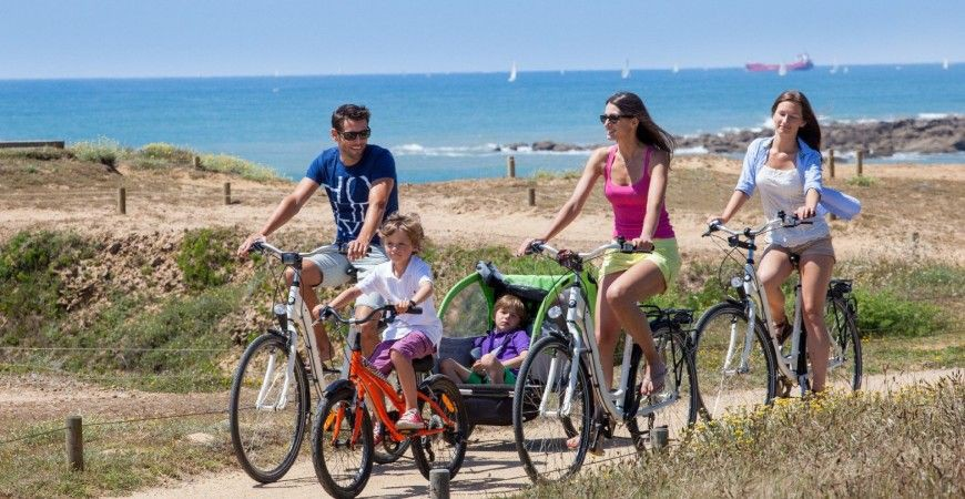 Camping Le Littoral Omgeving Fietsen